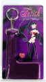 """• A textured handle for a no-slip grip • Silky 12"""" (31 cm) whip for naughty pleasure"""