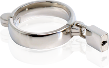 "Give ""precious metals"" a whole new meaning with this luxurious metal cockring. Cast in high quality steel and hand-polished to perfection,"