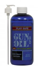 Gun Oil H20 16oz water-based lubricant is formulated to the same high quality specifications as Gun Oil silicone lube.